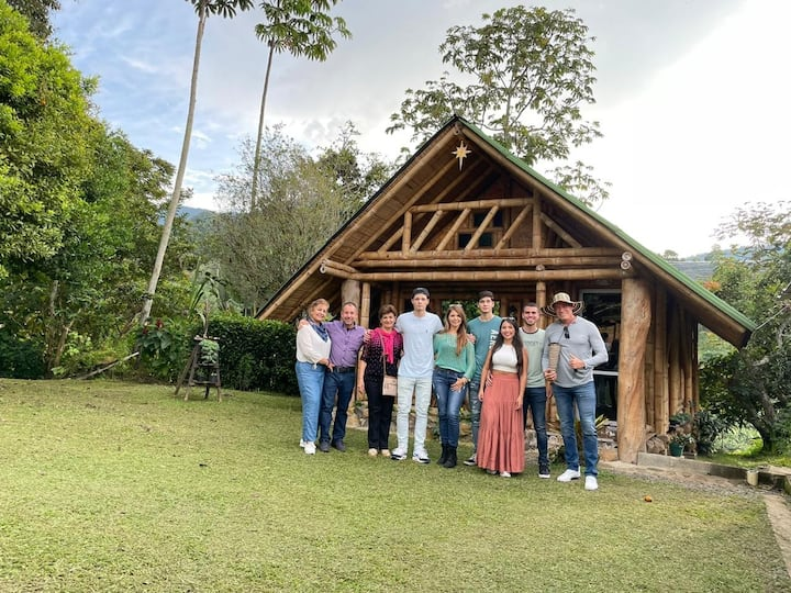 Cabaña Privada Familiar Manantial del Turpial WIFI