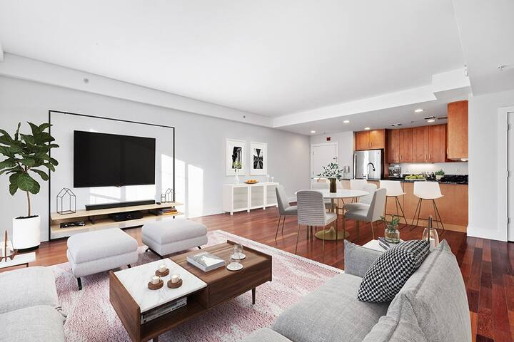 Stay as long as you want | 2BR in Hoboken