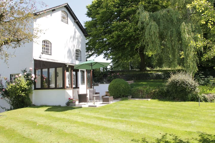The Mill,  watermill with  beautiful garden.