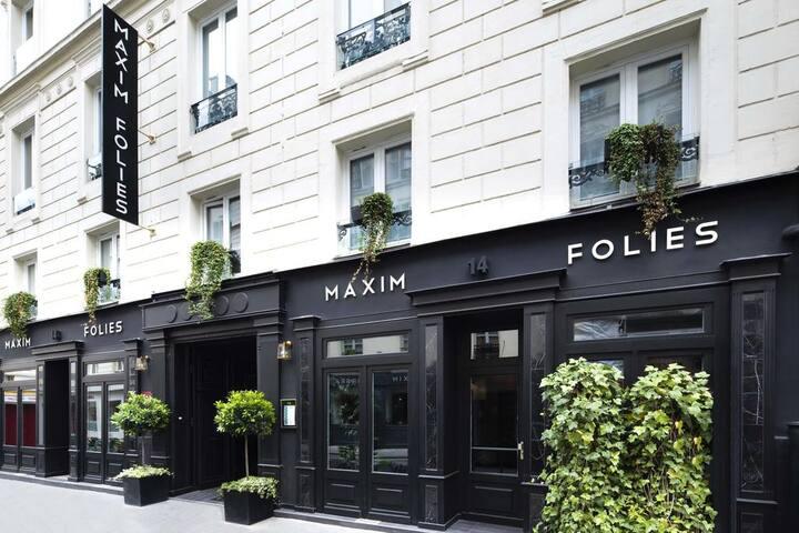 2 Bedroom Exquisite Maxim Folies suite