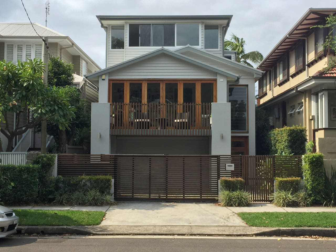 Stunning new home with off street parking.