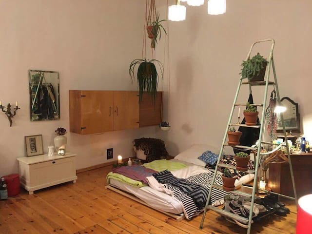 Colourful room in the manifold Moabit