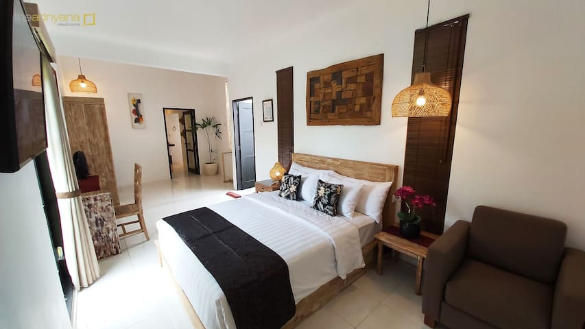 Monthly room rent in berawa canggu (Bima room)