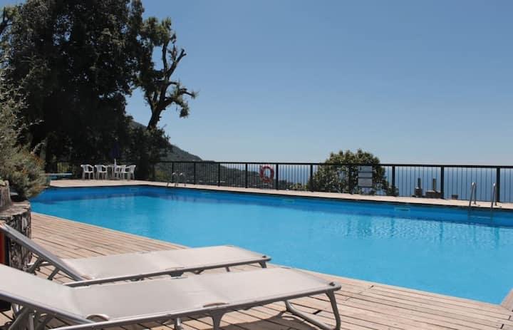 Appartamento Camogli residenza con piscina