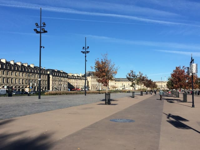 Historic St Michel center + car park ( 10€/night)