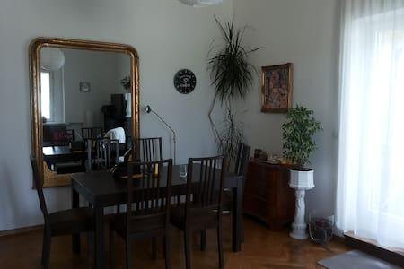 Großräumige ruhige Wohnung mit Balkon - Stuttgart - Lejlighed