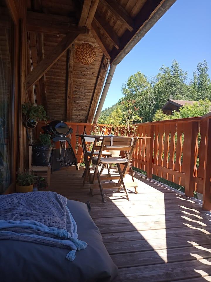 Appartement atypique au Col du Marais- Serraval