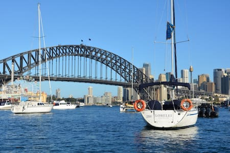 You can't get closer to The Sydney Harbour Bridge - Lavender Bay