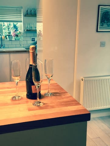 Stylish two bedroom flat with parking and garden - London - Apartment