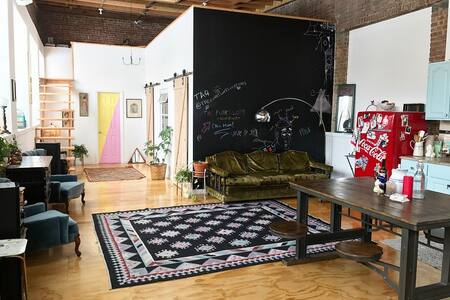 Backpackers Dream Room @ The Funky Loft! - Brooklyn - Loft