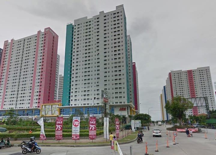 FREE WIFI SYARIAH 2BR Green Pramuka City Jakarta