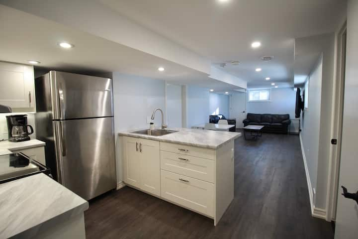 Newly Renovated Legal North End Apartment.