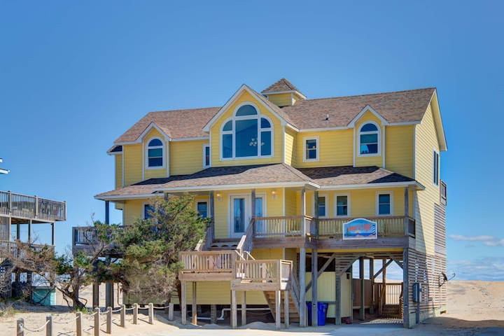 5 bed Oceanfront in Avon--BOOKING FOR 2021!