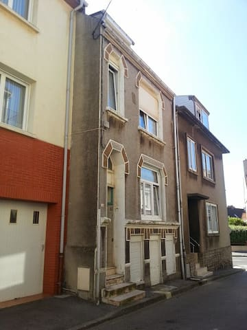 House of 4 double bedrooms and a pleasant stay.