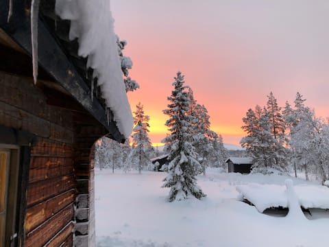 Magisk utsikt över Fjätervålen & Städjan.