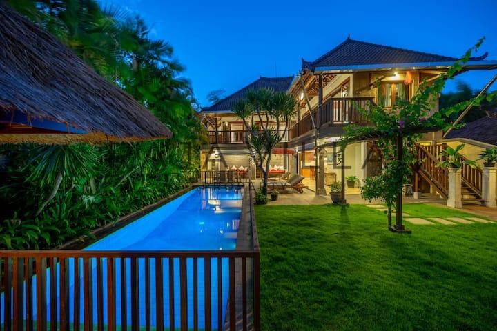 Stunning and Safe Bali Blizz Villa Close to Beach