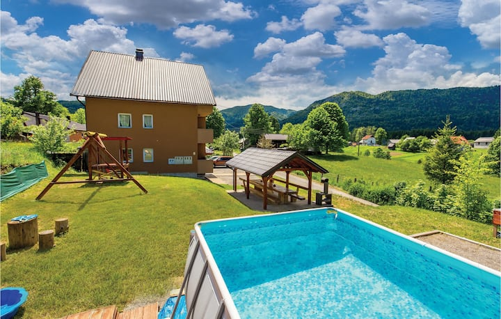 Beautiful home in Ogulin with WiFi and 2 Bedrooms