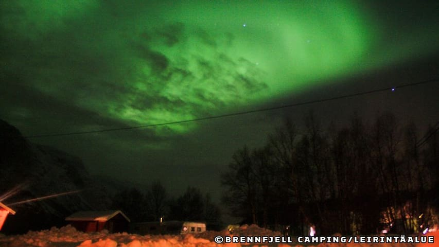 Brennfjell Camping Ruska/Northern Lights Economy