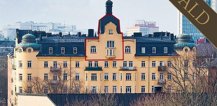 Långtidsuthyrning - Vindsvåning i Nytorgspalatset