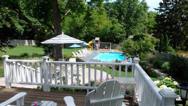 Stylish & Well-Equipped Home w/Private Outdoor Pool, Free WiFi, Deck, Gas Grill