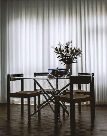 Unique and bright apartment, centrally located