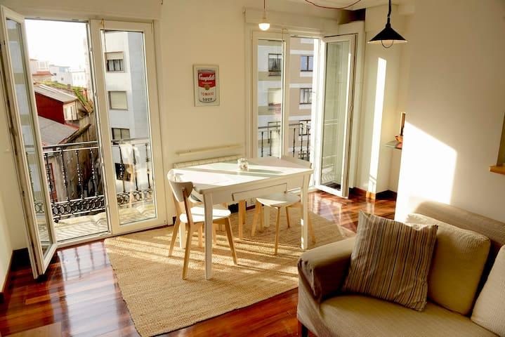 Bonito piso con vistas, céntrico, acogedor