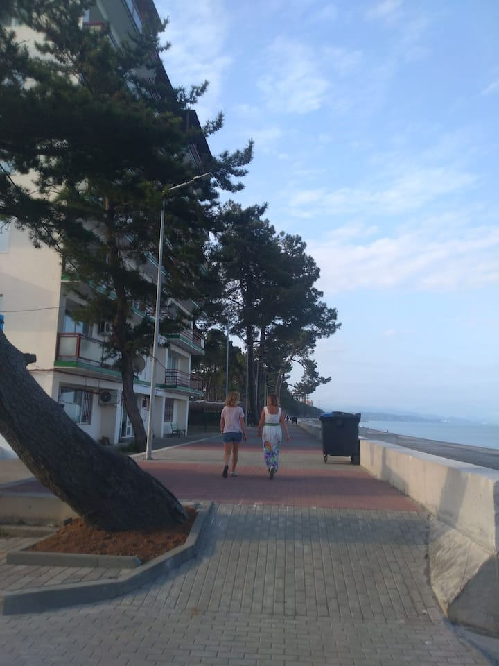 Студио на берегу море
