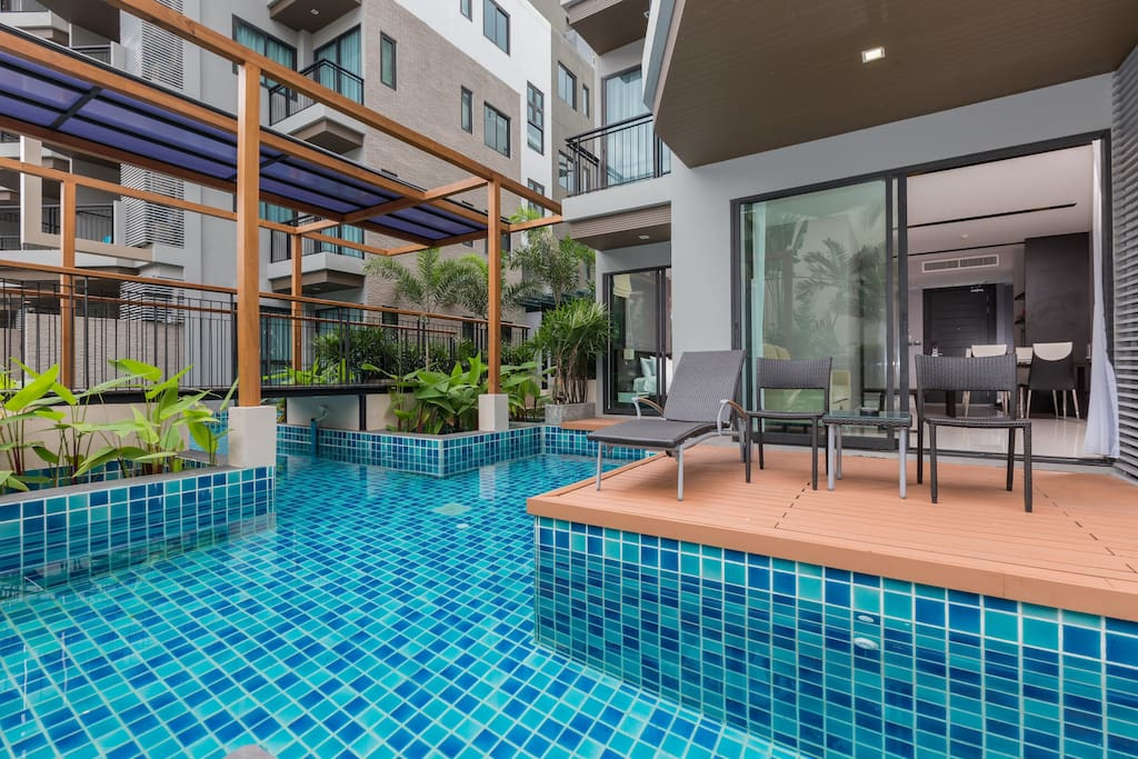 Pool Access, right from your balcony