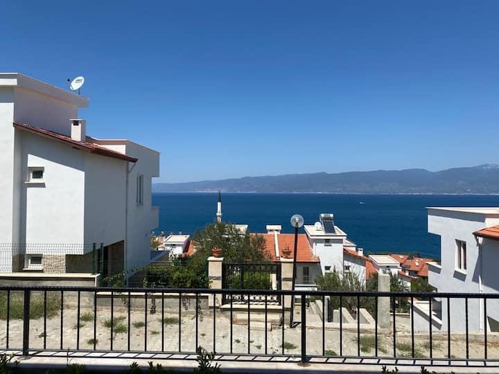 Pelitköy/Burhaniye Zuhause mit Aussicht