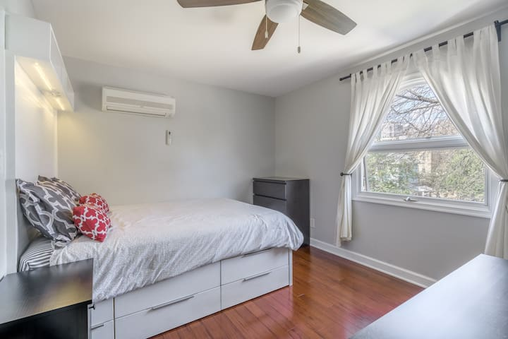 Midtown Treetop Room with Bath
