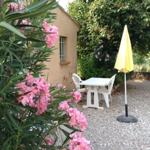 """""""LES OLIVIERS """"grand et beau T 1 en Provence verte - Le Val - Apartment"""