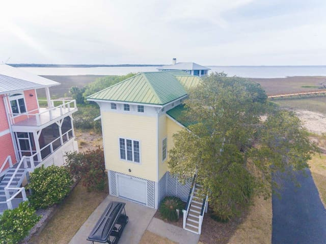 GOLF CART INCLUDED!!! VIEWS of Harbor River and Atlantic Ocean