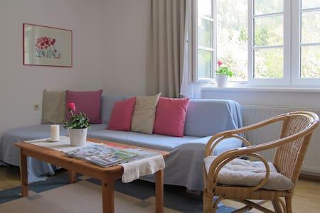 Ferienwohnung im Grünen + kostenlose Eintritte