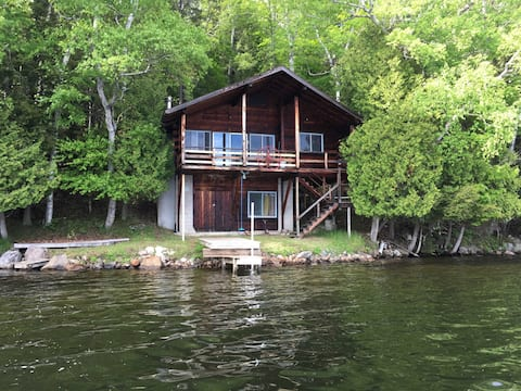 Cha-Ri-Nel on Blue Mountain Lake