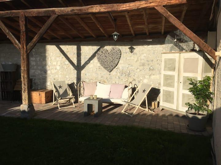 La Bâtie Maison cosy vue Belledone et Chartreuse