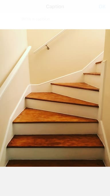 Stairs at Entry