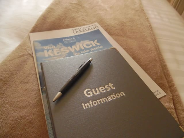Guest Information booklets