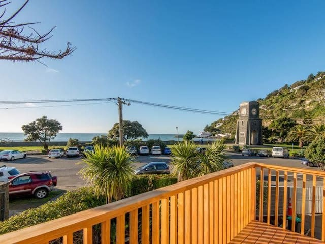 Sumner beachfront townhouse