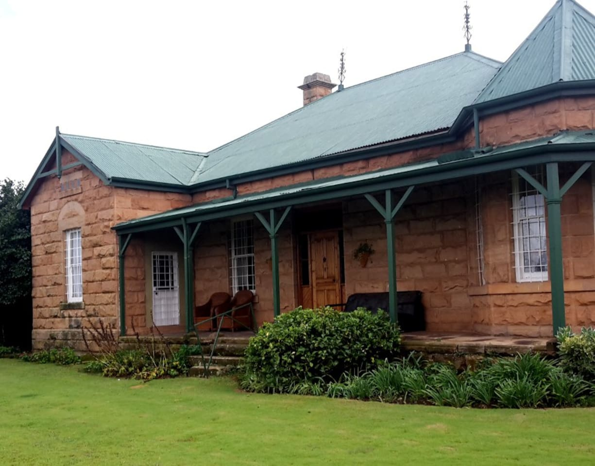 Classic, sandstone country house built in 1896.