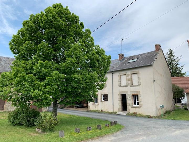 Maison 7 personnes Vallée de la Creuse Limousin