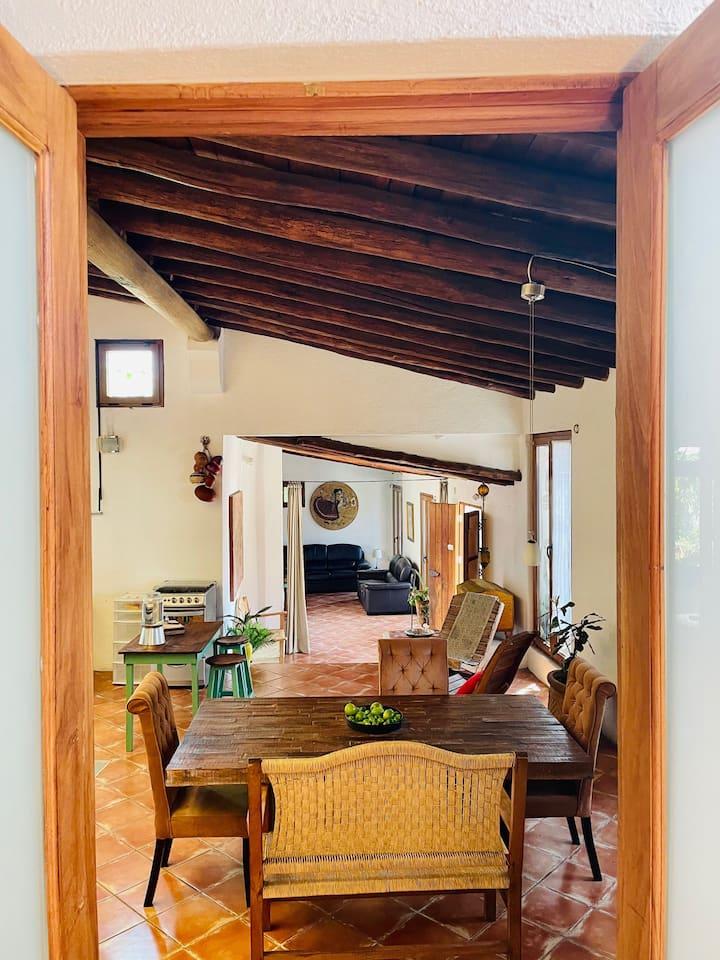 Casa el Jardín Secreto, en el centro de Oaxaca