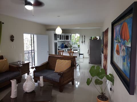 lovely apartment  with 2 bedrooms and great balcony