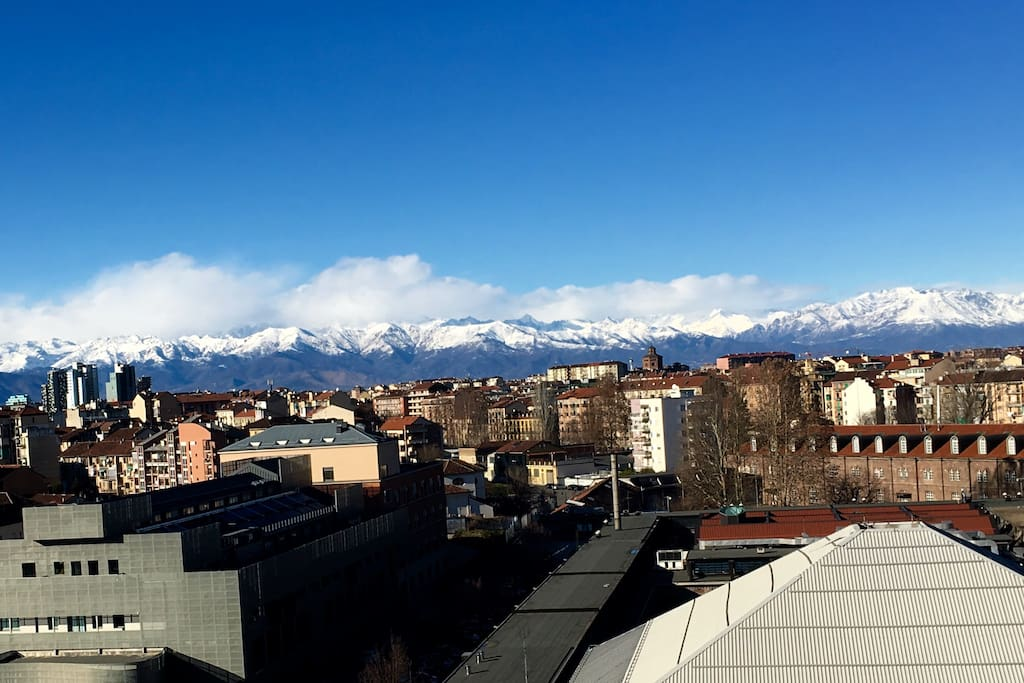 Le Alpi, vista dalla finestra - The Alps, view from the window