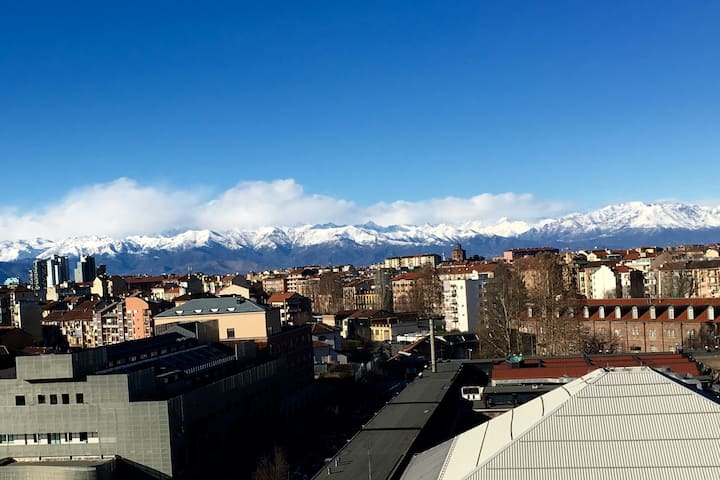 Emergency Room for globetrotter ;-) nice Alps view