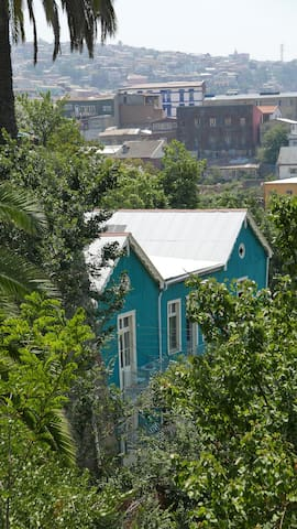 Excelente loft para 4 pers. en Cerro Alegre!