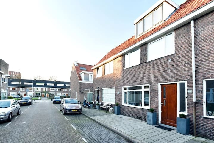 Modern swing 1930 house with all comforts&garden - Utrecht - Ev