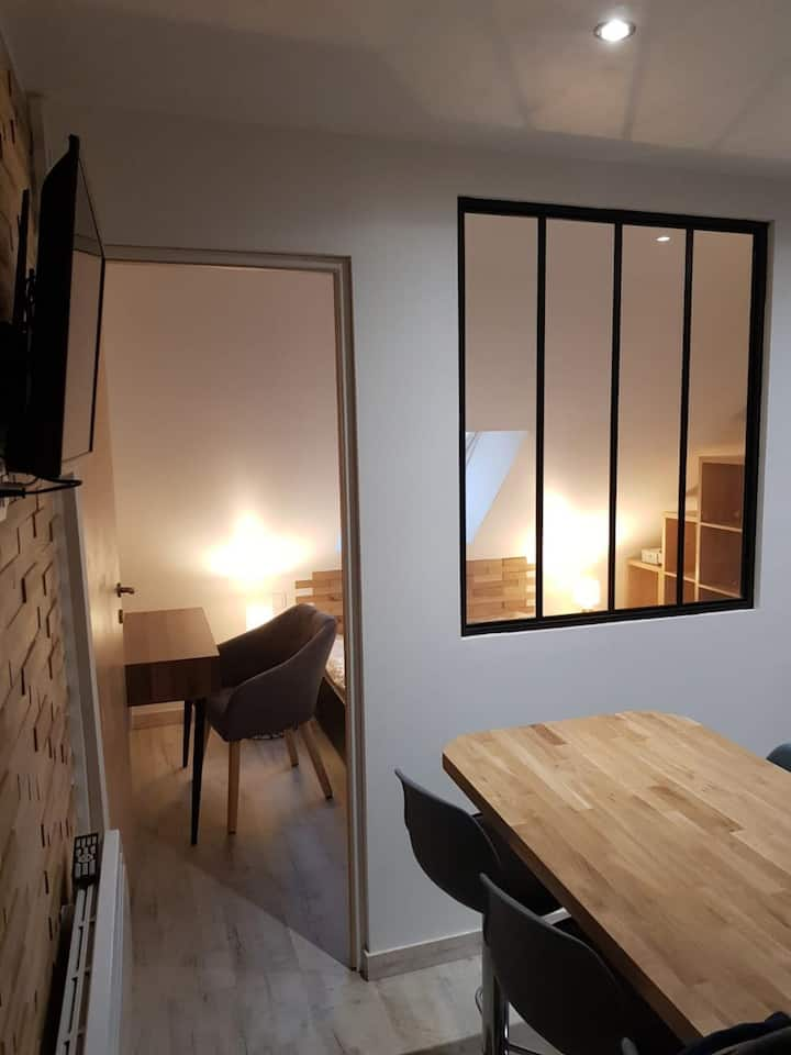 Studio cosy hyper-centre «Saint-serge»