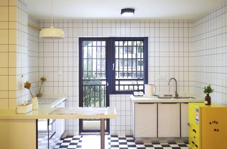 都江堰柳河家园清新北欧风,归家般的舒适与惬意