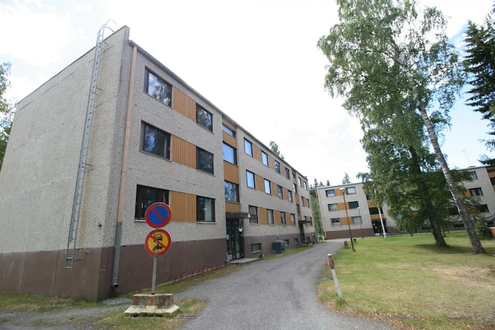 Forenom Three-bedroom apartment (with balcony) in Meri-Pori, Pori - Juhanintie 12