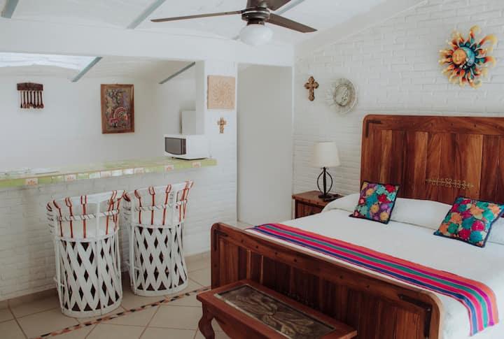 Habitación Estudio Onix | Hotel Casa Copal